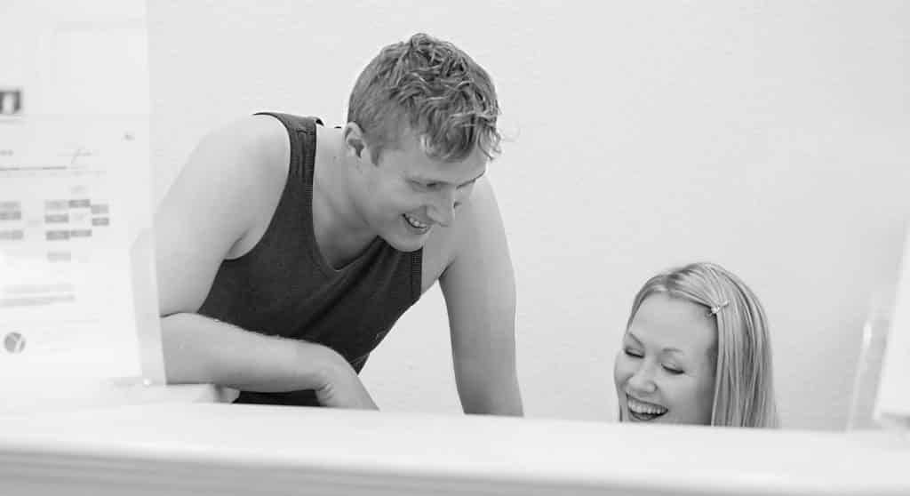 Jenny et Edward Jenkins au studio de Pilates